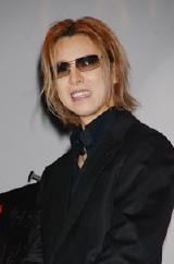 9月20日(木)、映画『カタコンベ』のプレミア試写会に登場したときのYOSHIKI