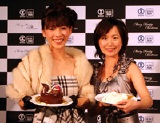ケーキより甘い新婚生活に幸せいっぱいの矢沢心と山川恵里佳