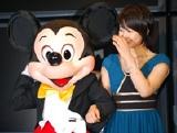 ミッキーマウスと堀北真希