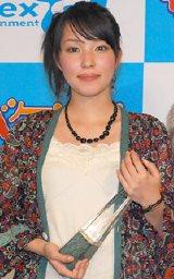 グランプリを受賞した峰香代子さん