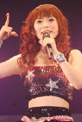 10月に行われた初ライブでの中川翔子