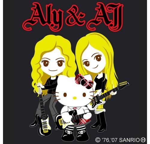 画像写真 キティちゃん海外セレブ姉妹とcdでコラボ 1枚目 Oricon