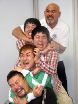 上から武藤敬司、ザ・たっち、神無月、佐々木健介