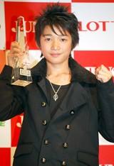 『第20回 ジュノン・スーパーボーイ・コンテスト』のグランプリ竹内寿さん