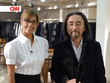 スペシャル・プログラム『Japan Now(ジャパン・ナウ)』に出演するスペシャル・プログラム『Japan Now(ジャパン・ナウ)』に出演するファッションデザイナーの山本耀司