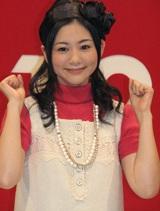 『第58回 NHK紅白歌合戦』の応援隊長に就任した関根麻里