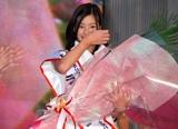 グランプリに輝いた足立梨花さん