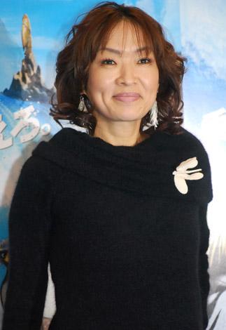 CGアニメ映画『サーフズ・アップ』のジャパンプレミアに登場した清水ミチコ