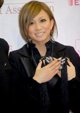 『ネイルクイーン 2007』授賞式に出席した倖田來未