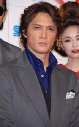 『龍が如く 見参!』完成披露会に出席した加藤雅也
