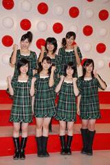 『第58回NHK紅白歌合戦』の出場歌手発表会見に出席したBerryz工房
