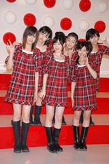 『第58回NHK紅白歌合戦』の出場歌手発表会見に出席した℃-ute