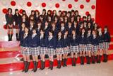 『第58回NHK紅白歌合戦』の出場歌手発表会見に出席したAKB48