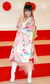 『第58回NHK紅白歌合戦』の出場歌手発表会見に出席した中川翔子