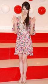 『第58回NHK紅白歌合戦』の出場歌手発表会見に出席したリア・ディゾン