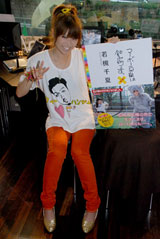 10月27日(土)、自身のブログの書籍化を記念した特別番組の公開収録に臨んだ若槻千夏