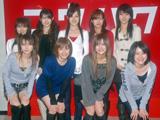 『第58回NHK紅白歌合戦』のリハーサルに臨んだモーニング娘。