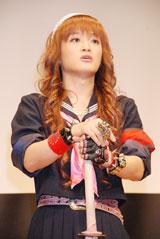 10月11日(水)、映画『バタフライ・エフェクト2』の特別試写会に出席したときの桜塚やっくん