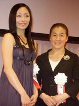 安藤美姫と谷亮子
