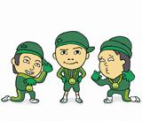 小学生男子3人組ユニット『CORICORI(こりこり)』