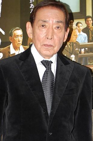 映画『明日への遺言』の特別試写会に出席した藤田まこと