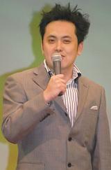 映画『ドラえもん のび太と緑の巨人伝』の完成披露試写会に出席した有田哲平