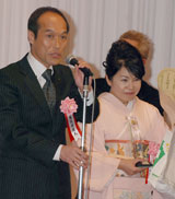 東国原英夫宮崎県知事と姫井由美子参議院議員