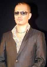 ゴールドディスク大賞を受賞したEXILEのボーカル・ATSUSHI