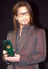ゴールドディスク大賞を受賞したEXILEのリーダー・HIRO