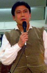 ミュージカル『ラ・マンチャの男』の制作発表会見に出席した松本幸四郎