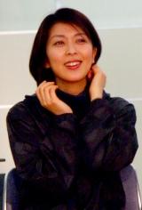 ミュージカル『ラ・マンチャの男』の制作発表会見に出席した松たか子