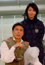 松本幸四郎&松たか子の親子ショット