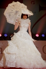 『BCK message BECKY's Design Debut Collection』に出演したベッキー (C)ORICON DD inc.