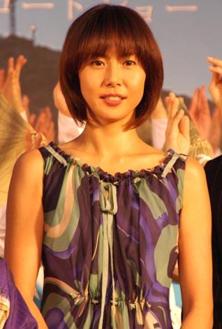女性部門1位の松嶋菜々子(07年4月3日撮影)