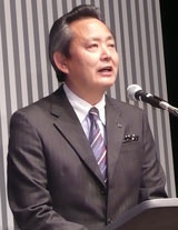 バンダイ 上野和典社長