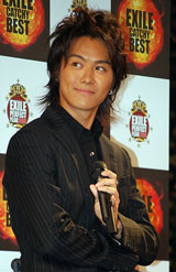 『THE LEGEND OF EX〜プレミアム試写会』に出席したEXILE・TAKAHIRO