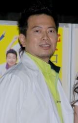 舞台『空中ブランコ』の製作発表に出席した宮迫博之