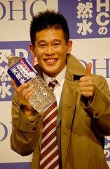 「お花見を盛り上げてくれそうな男性有名人ランキング」4位の柳沢慎吾(08年1月撮影)
