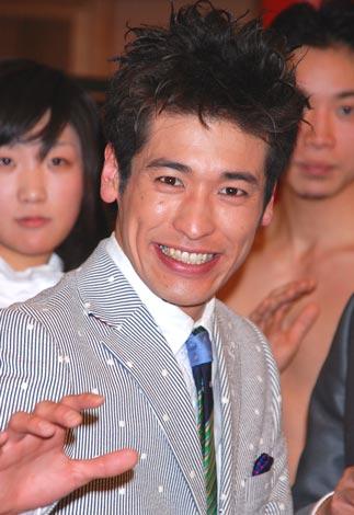 佐藤隆太(2月4日、映画『ガチ☆ボーイ』エキシビジョン会見の様子)