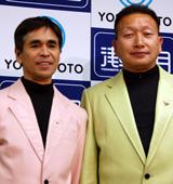 島田洋八(左)・ビートきよし