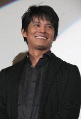 織田裕二(映画『椿三十朗』舞台挨拶の様子)