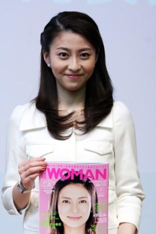 サムネイル 働く女性代表に選ばれた小林麻央
