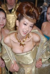 映画『王妃の紋章』のスペシャルプレビューに特別ゲストとして登場したほしのあき