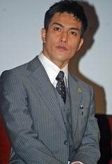 日本テレビ系の新ドラマ『ホカベン』の制作発表会見に出席した北村一輝