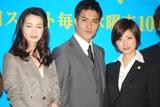 日本テレビ系の新ドラマ『ホカベン』の制作発表会見の模様