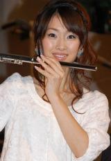 映画『名探偵コナン 戦慄の楽譜(フルスコア)』の完成披露試写会に出席した坂下千里子