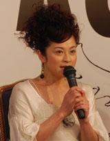 『五右衛門ロック』の製作発表に出席した濱田マリ