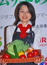 野菜ソムリエ・王理恵
