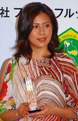 『第2回ベストアサイーニスト』の授賞式に出席した長谷川理恵