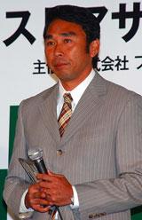 『第2回ベストアサイーニスト』の授賞式に出席した高野進(日本陸上競技連盟理事兼強化委員長)